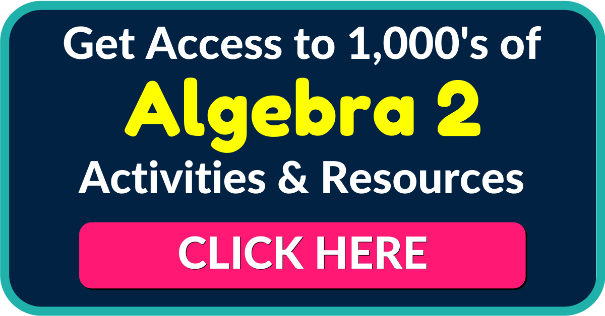 Algebra 2 and Trigonometry Lesson Plans