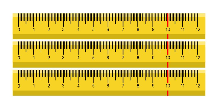 Multiplying 3 and 4 digit Numbers using area models and rulers