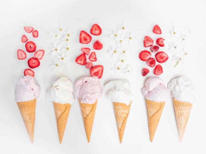 Ice cream cones - math activities for preschoolers