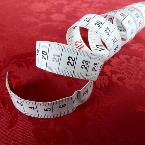 The metric units of length