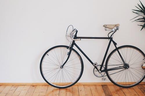 A bike in a room