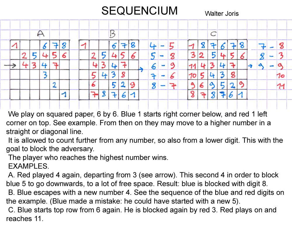 joris 23 (sequencium game)