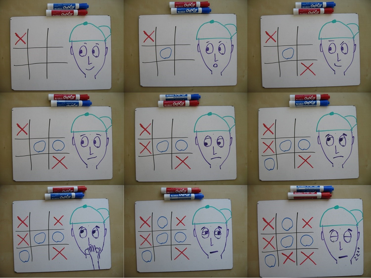 Ultimate Tic Tac Toe Math With Bad Drawings