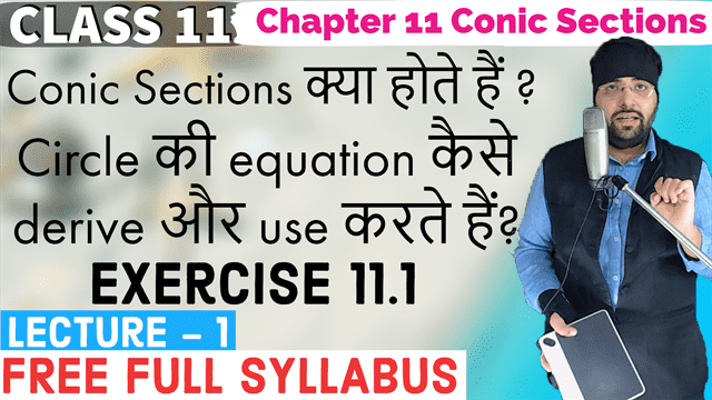 Conic Sections Lecture 1