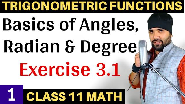 Trigonometric Functions Lecture 1