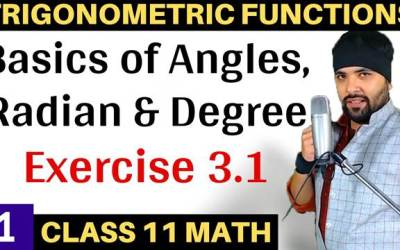 Exercise 3.1 Chapter 3 Trigonometric Functions Class 11 Maths