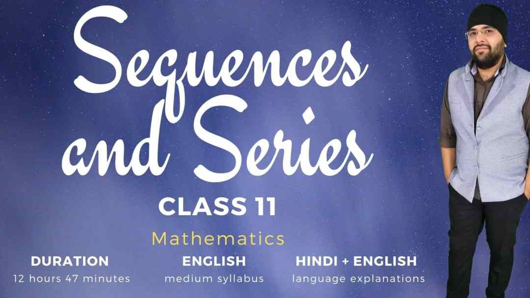 Sequences and Series Class 11 Maths 1400px