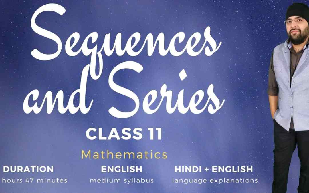 Ch09. Sequences and Series – 1Y