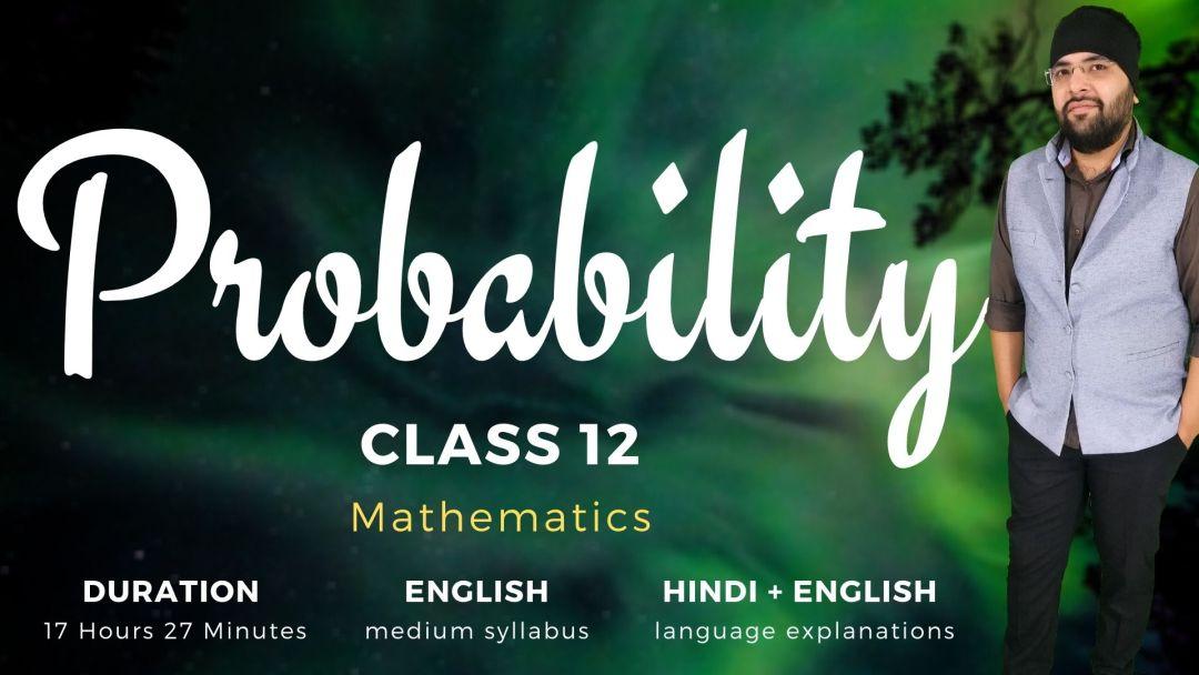Probability Class 12 Maths v1