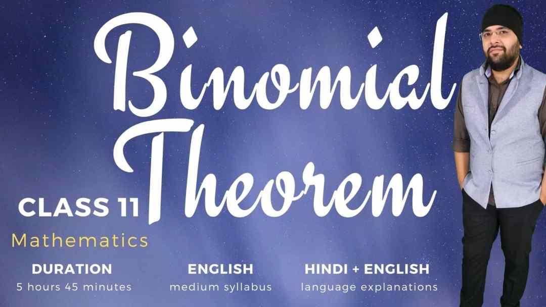 Binomial Theorem Class 11 Maths 1600px