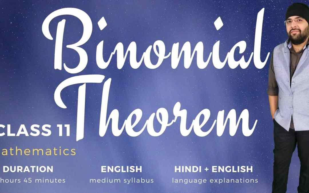 Ch08. Binomial Theorem – 1Y