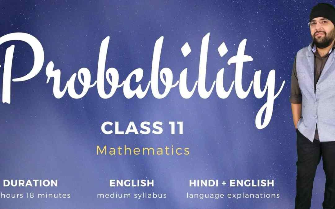 Ch16. Probability – 1Y