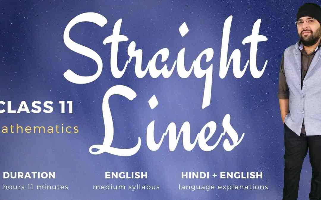 Ch10. Straight Lines – 1Y