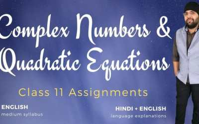 Ch05. Complex Numbers and Quadratic Equations Assignments – 1Y