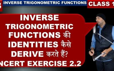 Exercise 2.2 Inverse Trigonometric Functions Class 12 Maths