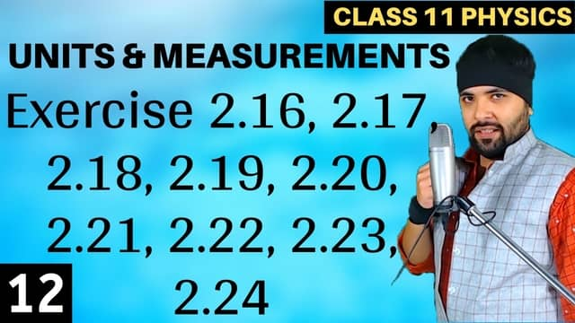 Chapter-2-Units-and-Measurement-Lecture-12
