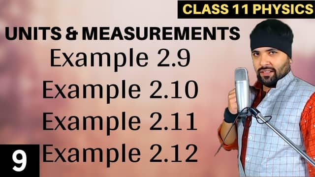 Chapter-2-Units-and-Measurement-Lecture-9