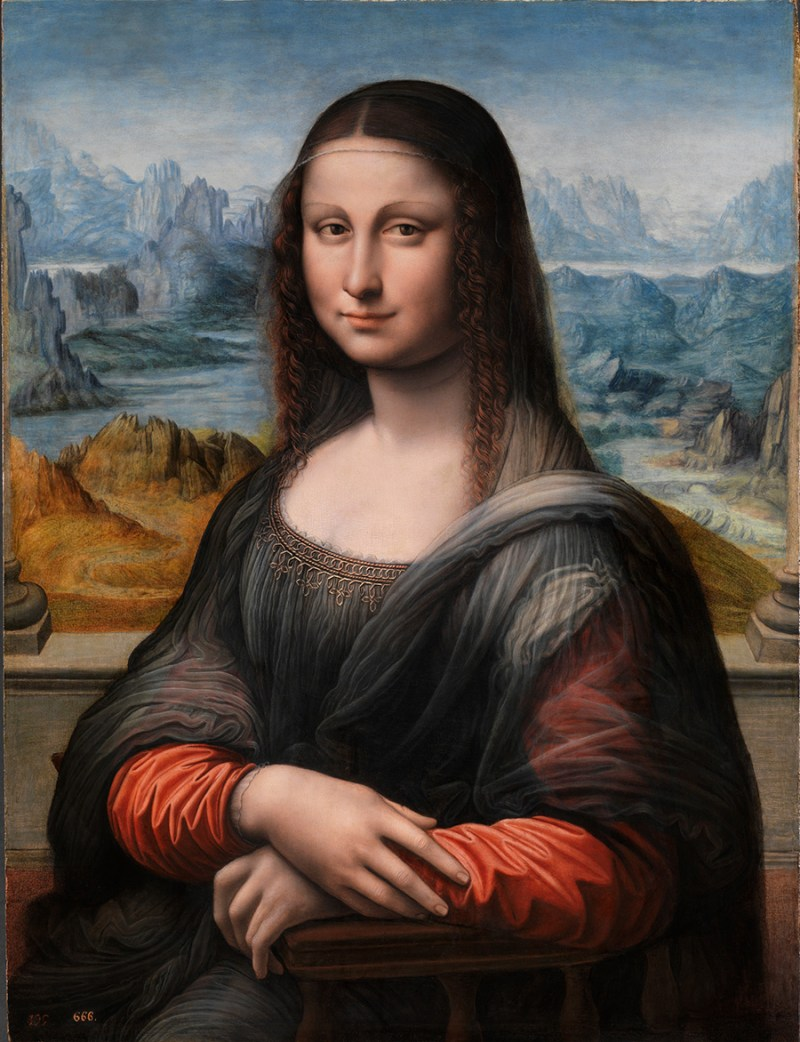 Restored Prado Mona Lisa