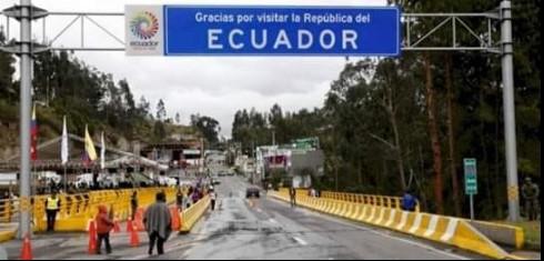 Ecuador CIERRE FRONTERIZO