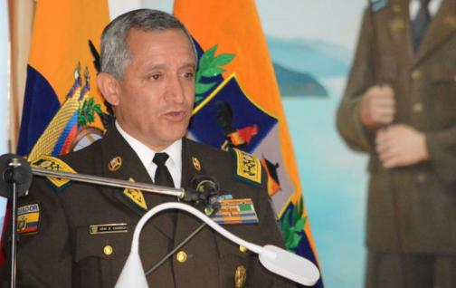 Hernán Patricio Carrillo Rosero es el nuevo Comandante General de la Policía Nacional