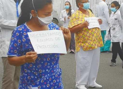 Médicos denuncian que atienden sin medidas de bioseguridad