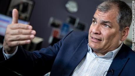 Expresidente Correa sostiene que los jueces lo sentenciaron sin haber probado nada