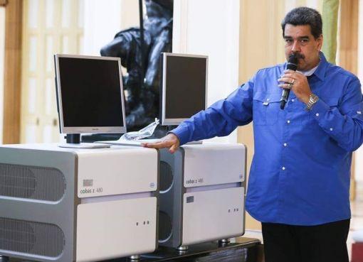 NICOLÁS MADURO OFRECE AYUDA A ECUADOR ANTE EMERGENCIA POR EL COVID-19