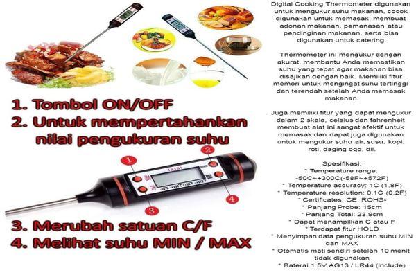 Begini Cara Mengukur Suhu Makanan Dengan Thermometer Agar Kualitas Tetap Bagus