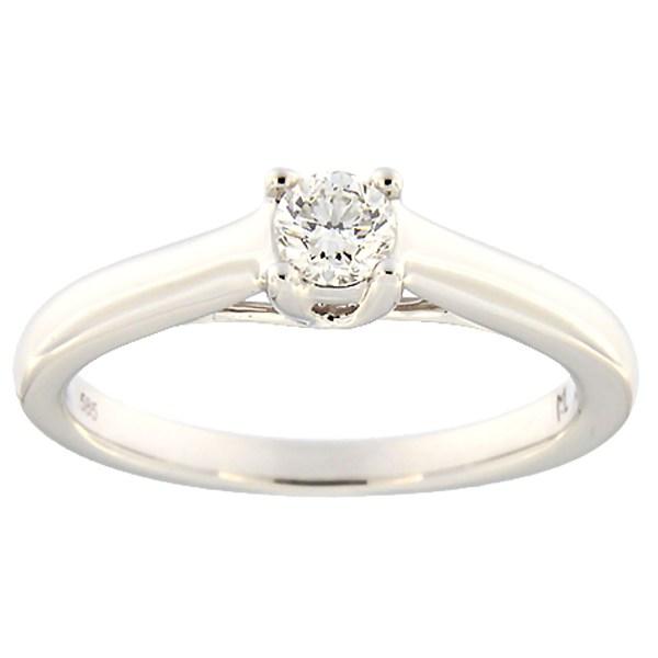 8edeb2ef1b8 Kullast sõrmus teemantiga 0,23 ct. Kood: 131ak · Esileht / Ehted /  Kihlasõrmused ...