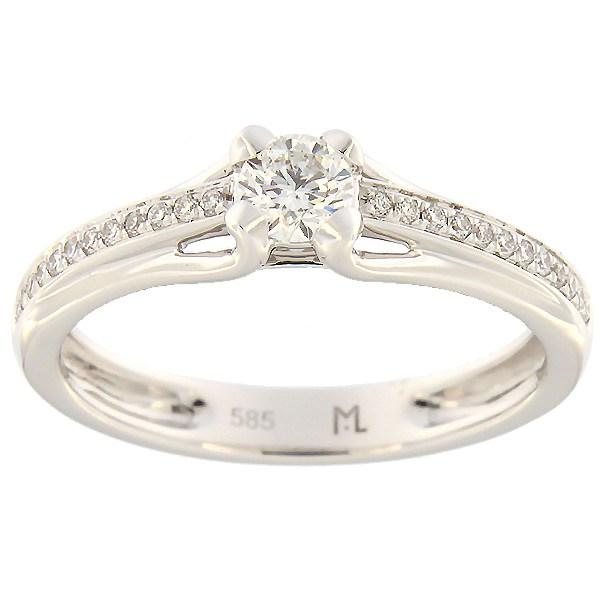 17700b06880 Kullast sõrmus teemantidega 0,33 ct. Kood: 189ak · Esileht / Ehted /  Kihlasõrmused ...