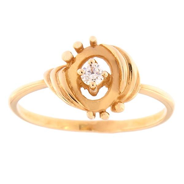 Kullast sõrmus tsirkooniga Kood: 262p