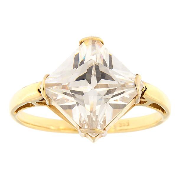 Kullast sõrmus tsirkooniga Kood: 337epp242