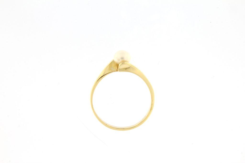 Kullast sõrmus mageveepärliga Kood: 641wp218-1