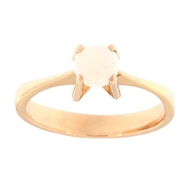 Kullast sõrmus opaaliga Kood: 67pk