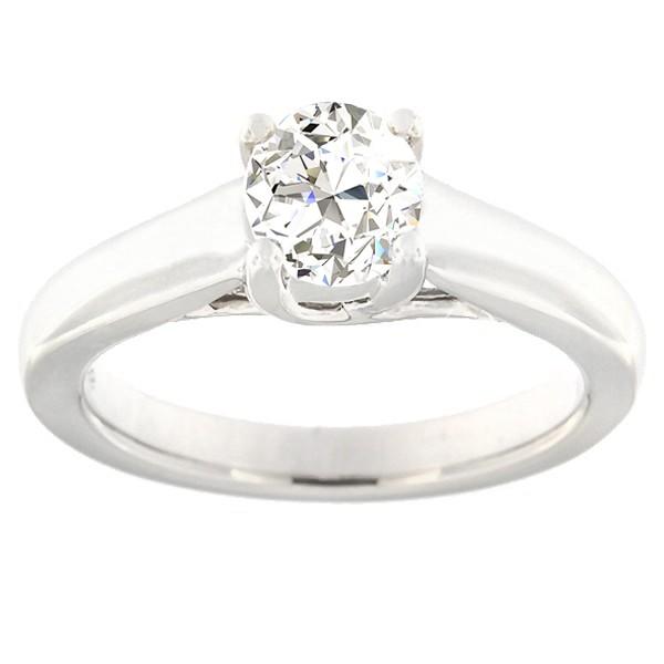 Kullast sõrmus teemantidega 0,70 ct. Kood: 6ax