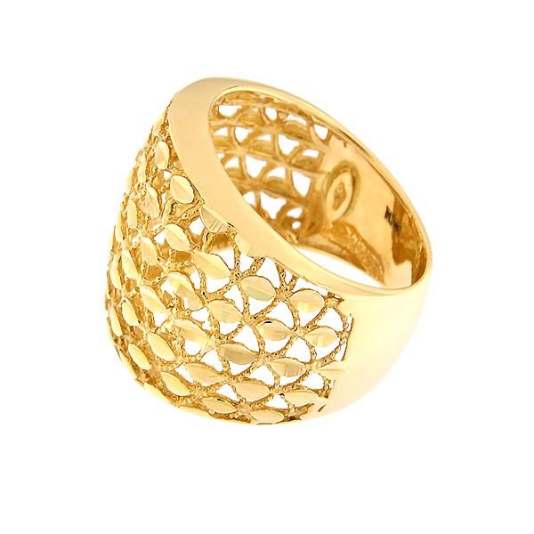 Kullast sõrmus Kood: 76tf-1