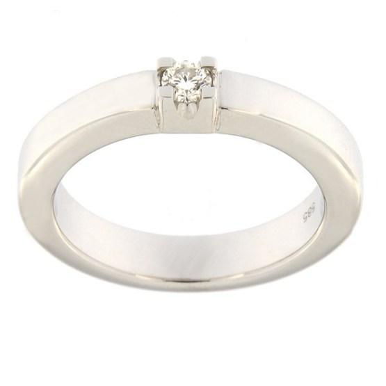 c8dd49899ec Esileht / Ehted / Kihlasõrmused / Kullast sõrmus teemantiga 0,10 ct. Kood:  82al