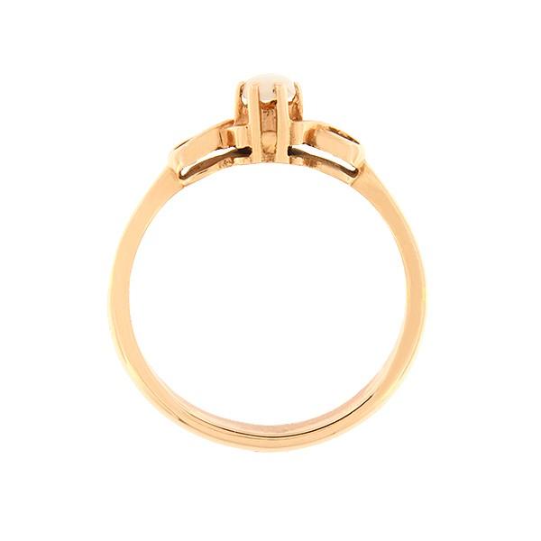 Kullast sõrmus opaaliga Kood: 89pk-1