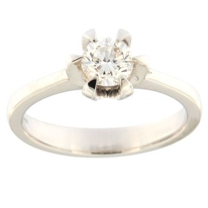 Gold ring with diamond 0,50 ct. Code: acredo3