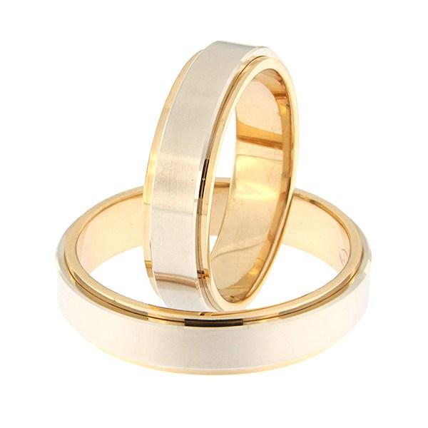 Золотое обручальное кольцо Kод: rn0111-5l-pvsm1-ak