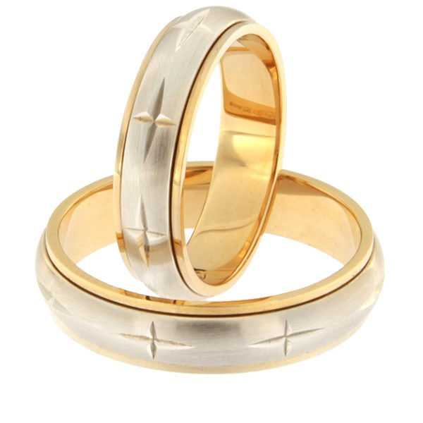 Gold wedding ring Code: rn0115-5-m1-ristidega