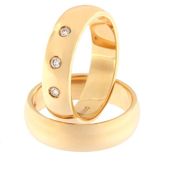 Kullast sõrmus teemantidega Kood: rn0116-5-3k