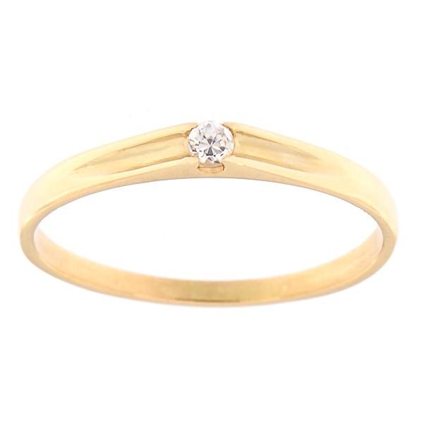 a9c698fabd9 Kullast sõrmus tsirkooniga Kood: rn0122-valge - MATIGOLD - Mati Kullaäri