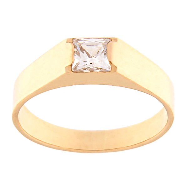 Gold ring with zircon Code: rn0123-tsirkoon