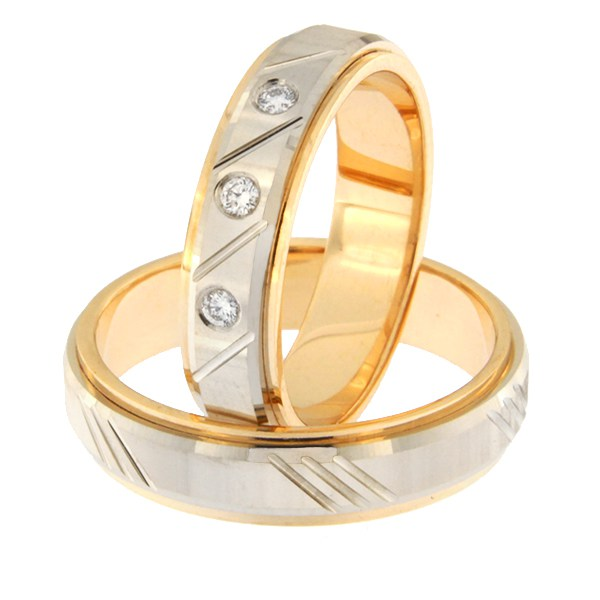 Kullast abielusõrmus Kood: rn0138-5d-pv-ak-3k
