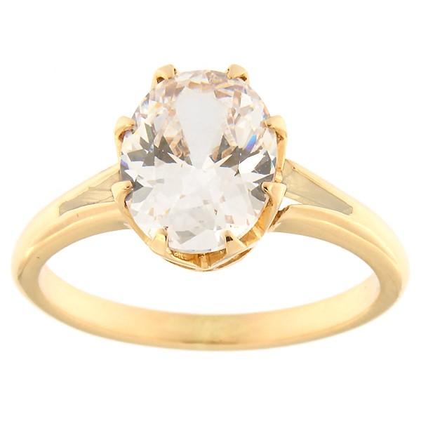 Kullast sõrmus tsirkooniga Kood: rn0165-tsirkoon