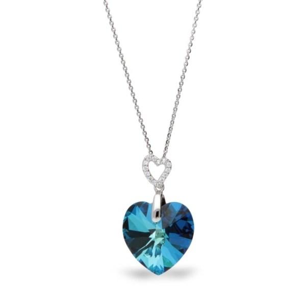 Hõbedast ripats Swarovski® kristallidega Kood: NC622818BB