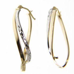 Kullast kõrvarõngad Kood: 172301