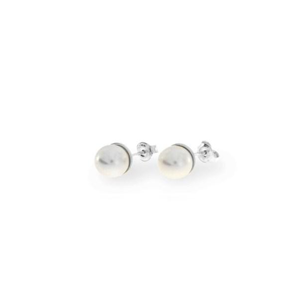 Hõbedast kõrvarõngad Swarovski® kristallpärlitega Kood: K58188W