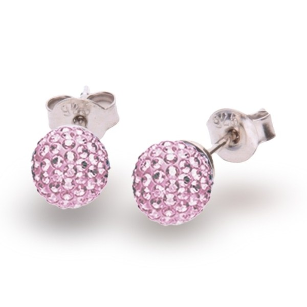 Hõbedast kõrvarõngad Swarovski® kristallidega Kood: K860016LR